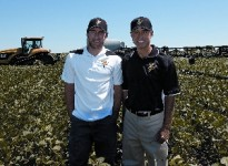 Chad, Steve Nuest Soybean Field