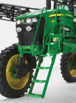 Deere 30 Series sprayers ladder
