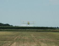 Aerial application, fungicide
