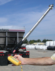 Adams Fertilizer Double Shot Side Auger