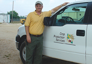 CPS employee truck
