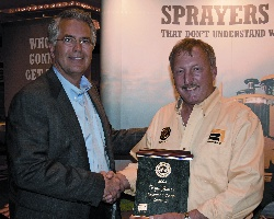 Kyle Jones Operator Of The Year AGCO Mark Sharitz