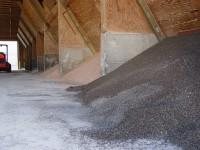Fertilizer pile