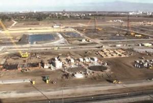 CF Industries' Donaldsonville, LA, nitrogen complex expansion site.