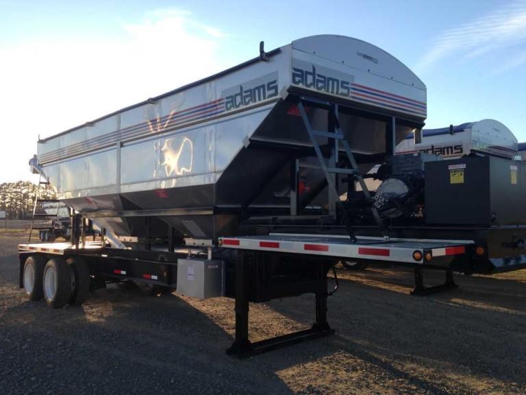 Rear Discharge Trailer Tender | Adams Fertilizer Equipment