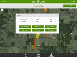 AgraScout Fields Nearby screenshot