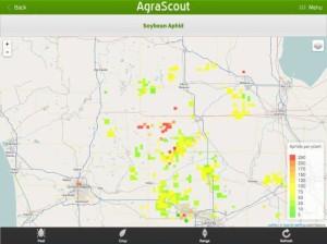 AgraScout Trav View screenshot