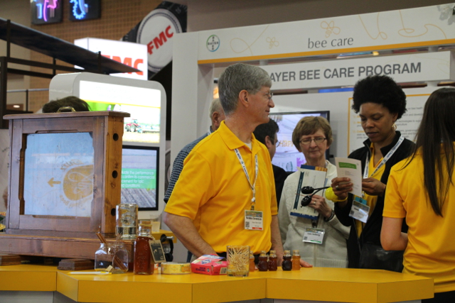 Bayer CropScience had a push around pollinator health at the 2014 Commodity Classic