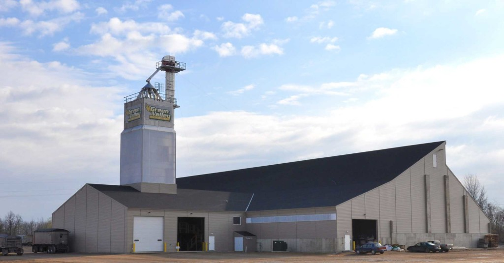 Green Valley Agricultural's new facility can serve as a hub plant for many of the company's locations.