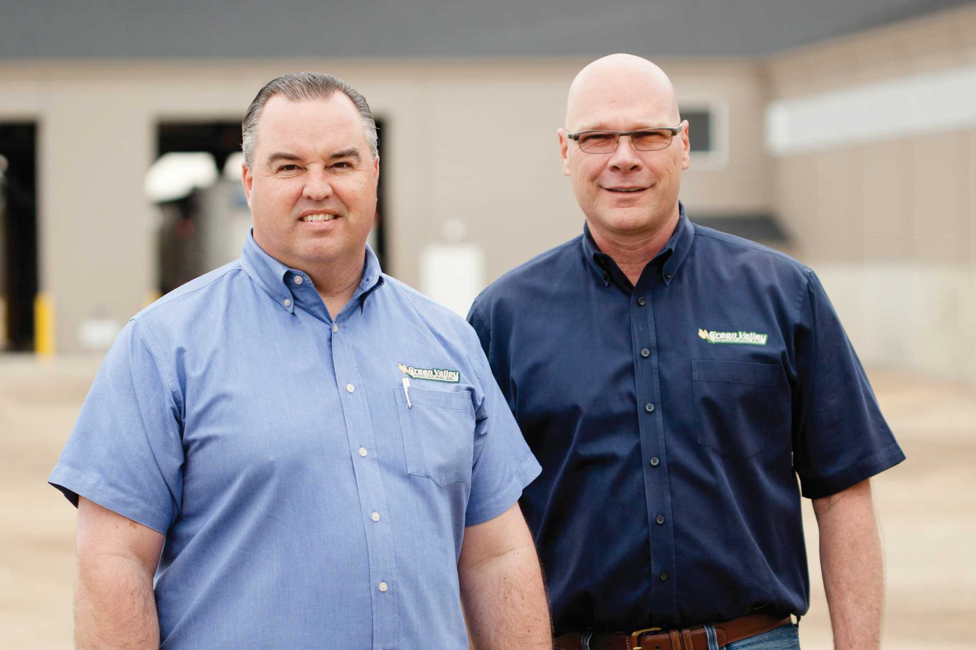 Green Valley Co-owners Mark Edema and John Christian