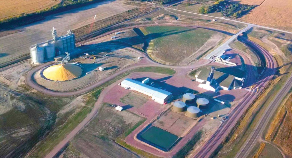 An aerial view of the Central Valley Ag facility in Royal, NE.