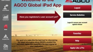 AGCO Launches Global iPad App