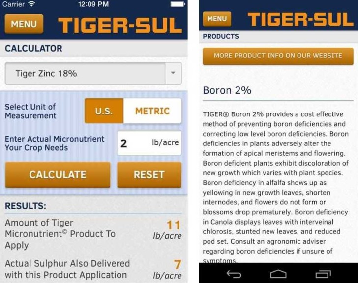 TigerSul Calculator