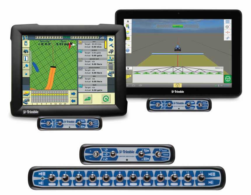 Trimble FmX TMX-2050 Field-IQ SwitchBoxes