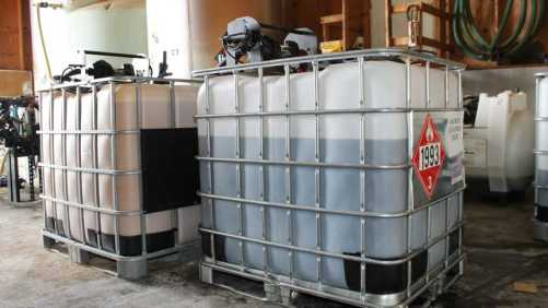 Crop Protection Bulk Storage