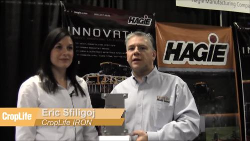 CropLife IRON Awards Hagie With 2014 Product Of The Year