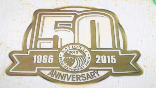 National Farm Machinery Show 50th Anniversary