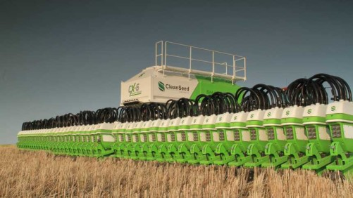 CX-6 Smart Seeder Closeup