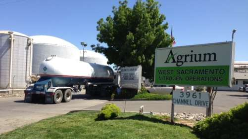 Agrium West Sacrament Nitrogen operations