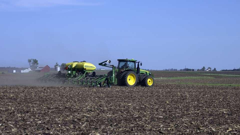 Planter in Iowa