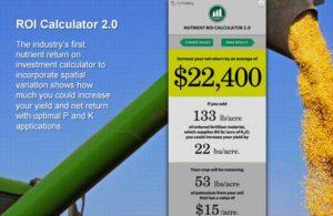 Nutrient ROI Calculator 2.0. (update) | PotashCorp