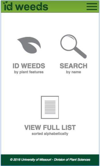 ID Weeds | University of Missouri Extension
