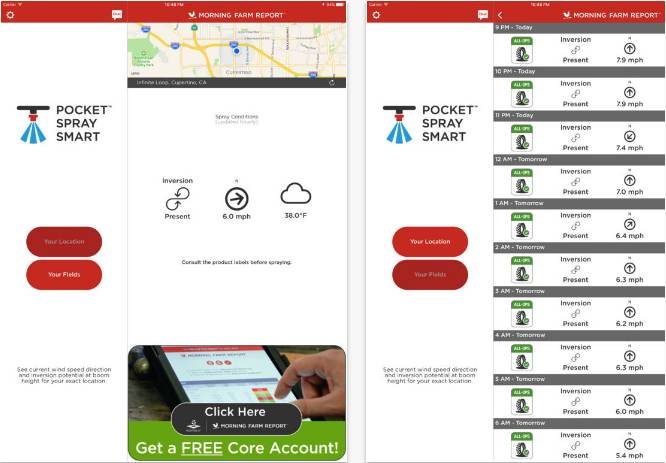 Agrible Pocket Spray Smart App