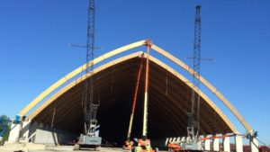 PCS-Hammond Meets Fertilizer Storage Needs with New Dome Facility