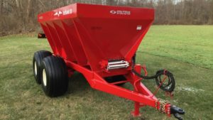 Stoltzfus Spreaders Expands REDHAWK Line with 10-Ton Model