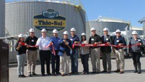 New Thio-Sul Plant Opens in Illinois