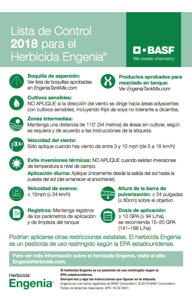 Daily Dicamba Update: Reaching Spanish Speakers on Label Requirements