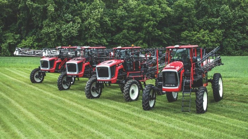 2019 Apache Sprayers Feature Improved Efficiency, Productivity