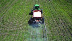 Salford Group Introduces Swath Control Technology for Spinner Spreaders