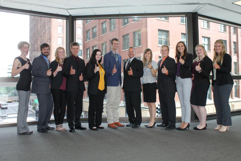 Recipients of MACA's Young Leader Scholarship program