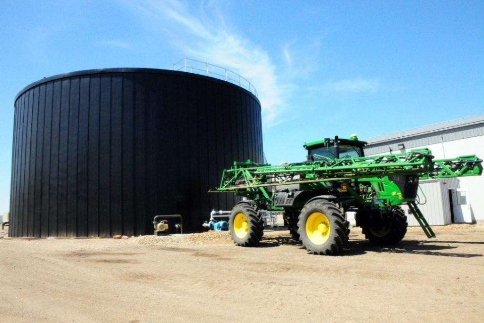 Heartland Tank insulated liquid storage systems.