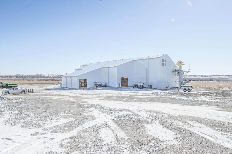 Legacy Building Solutions Designs Unique Fertilizer Facility for Agriland FS