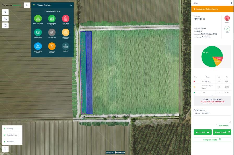 ADAMA's New Ag Service Provides Analysis of Aerial Data