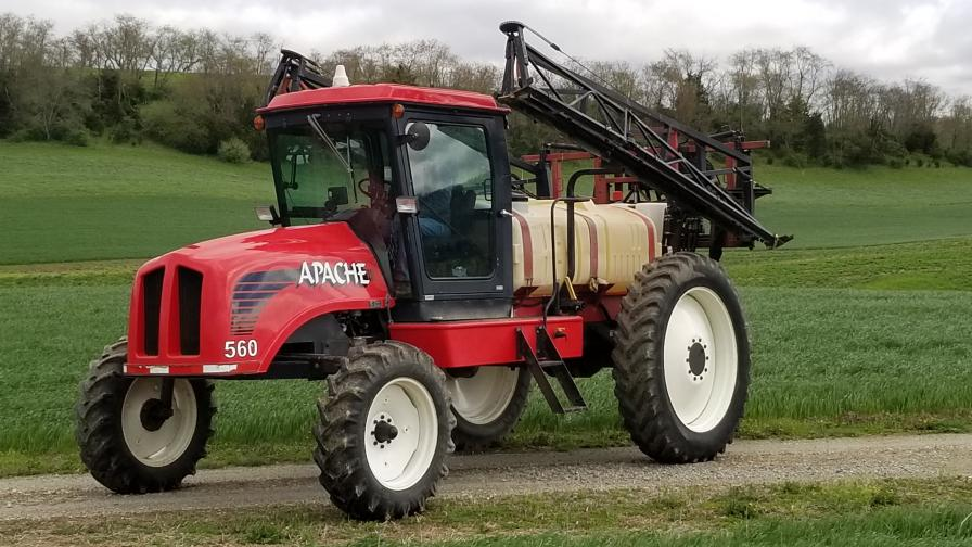 Classic Iron: This Apache Sprayer From the 90s Is Still Filling Application Needs Today