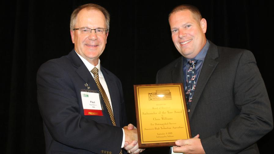 MACA Names Chris Williams CropLife Ambassador of the Year