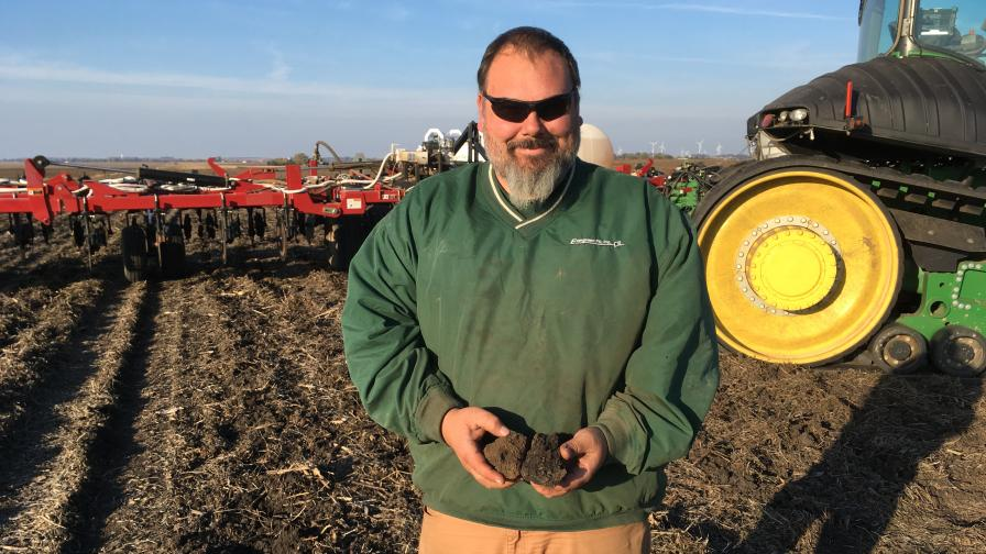 EvergreenFS utilizes the Veris iScan to map their customers' soil variability