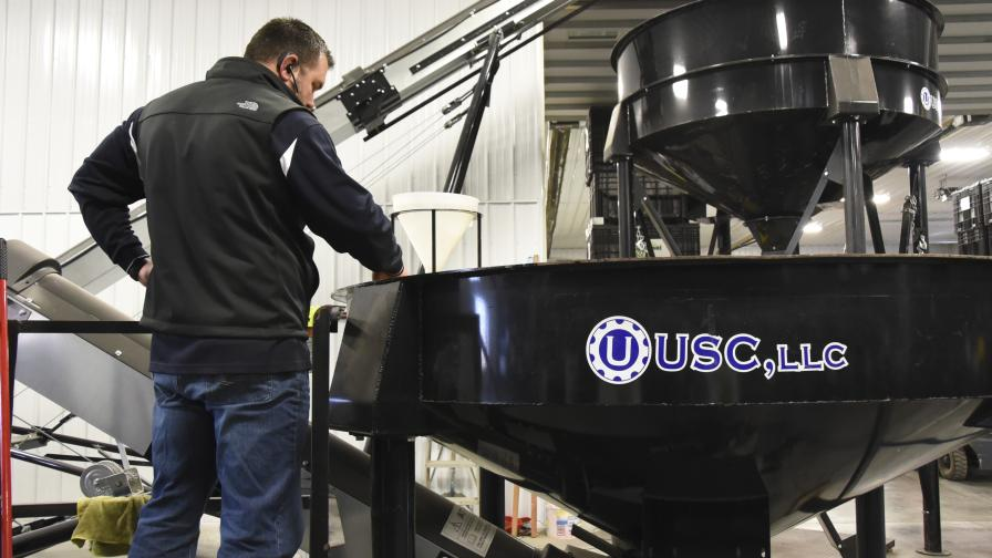 USC seed treater maintenance photo