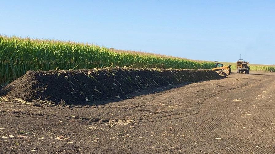 Corn Field Drainage