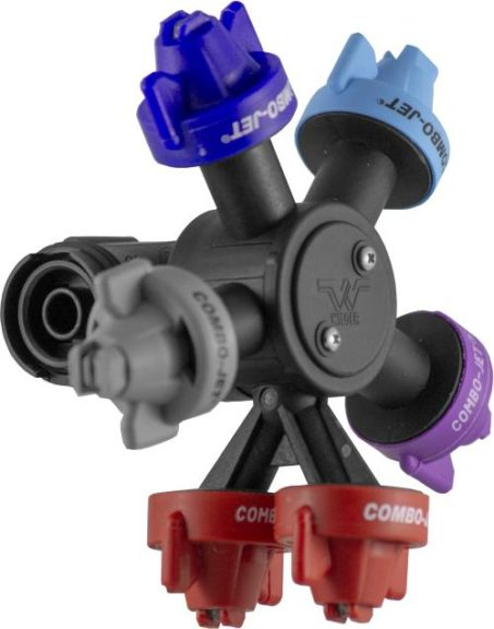 Combo-Rate Double-Down Nozzles