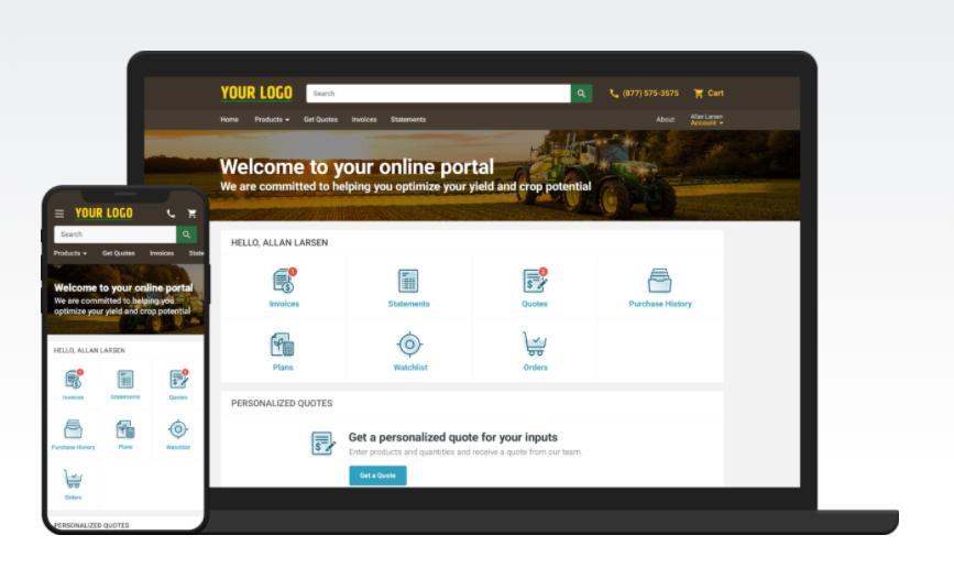 AgVend Grower Portal (New)
