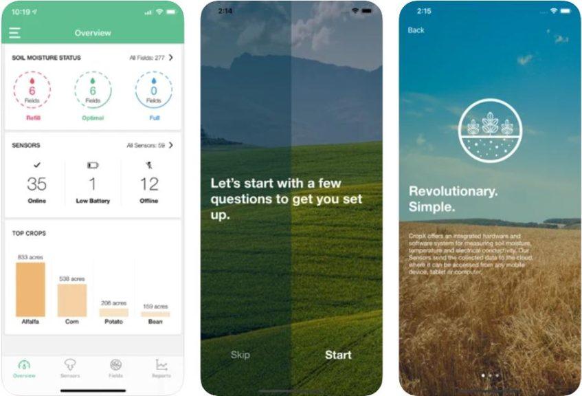 CropX Adaptive Irrigation App