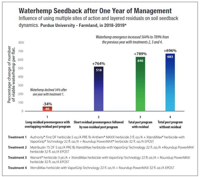 Waterhemp Chart