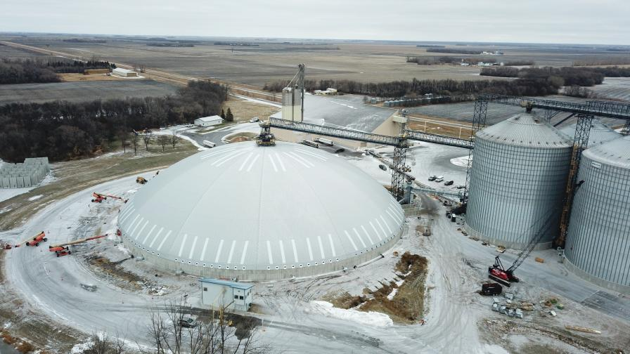 Agridome constructed in Beltrami, MN
