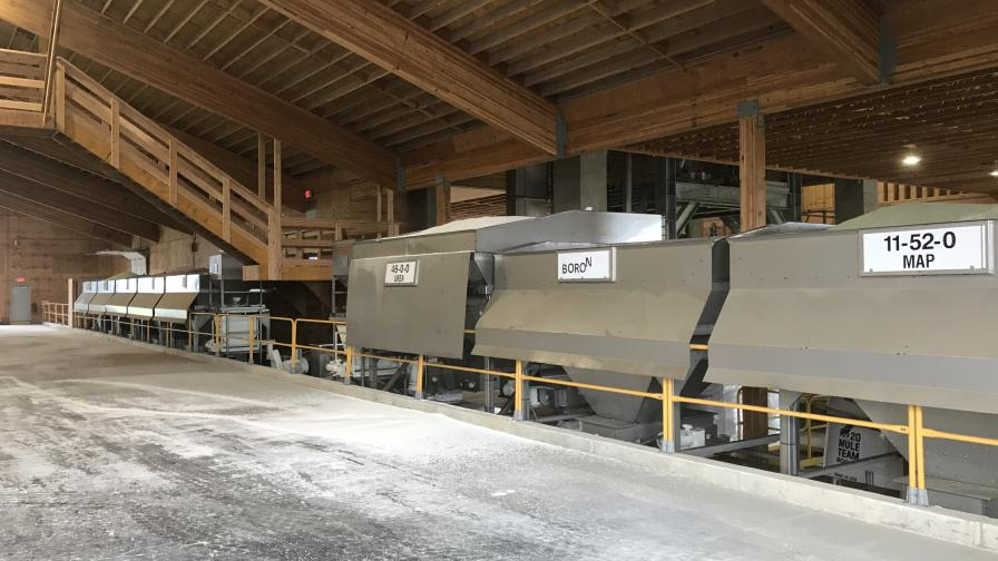Ranco installed this blending system for Nutrien in Corvallis, OR. Photo Courtesy: Ranco