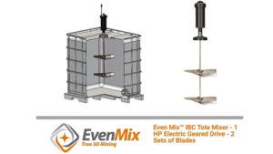 IBC Tote Electric-Geared Mixer