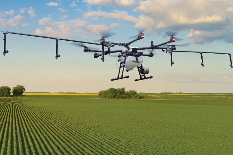 DJI Agras MG-1P Agricultural Spray Drone
